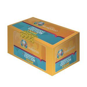 UEFA Euro 2020™ Tournament Edition Official Sticker Collection BOX da 140 bustine