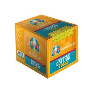 Box da 50 bustine UEFA Euro 2020™ Tournament Edition Official Sticker Collection