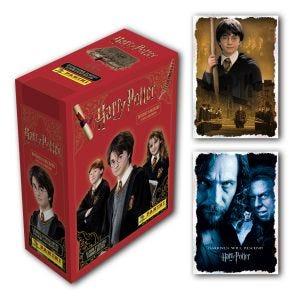 Box da 24 bustine + 2 card XXL Limited Edition HARRY POTTER - MANUALE DI FIGURINE PER MAGHI E STREGHE