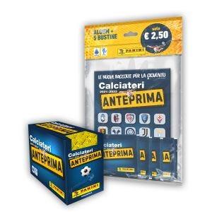 Special Pack Calciatori Anteprima - 1 STARTER PACK + 1 SCATOLINA DA 36 BUSTINE