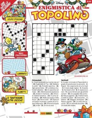 ENIGMISTICA DI TOPOLINO N.44