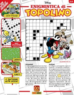 ENIGMISTICA DI TOPOLINO N.45