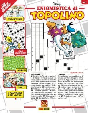 ENIGMISTICA DI TOPOLINO N.47