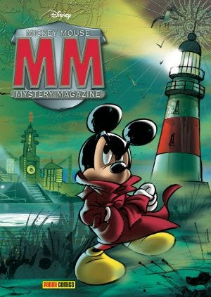 MICKEY MOUSE MYSTERY MAGAZINE N.3