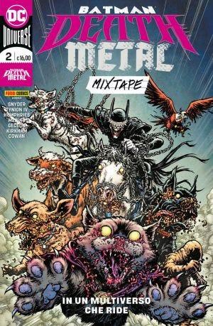 BATMAN - DEATH METAL MIXTAPE VOL. 2 (LIBRO ISBN) [RED GER]