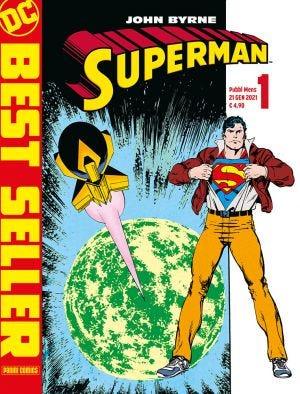 DC BEST SELLER: SUPERMAN BY BYRNE N.1
