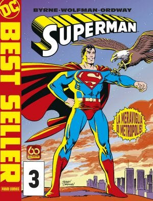 DC BEST SELLER: SUPERMAN BY BYRNE N.3