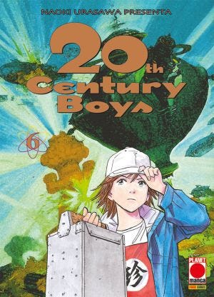 20TH CENTURY BOYS 6 QUINTA RISTAMPA (ISBN)