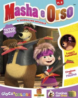 MASHA E ORSO MAGAZINE 2