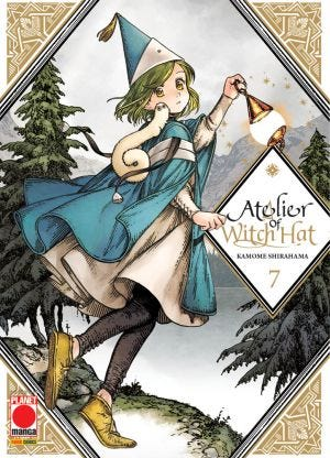 ATELIER OF WITCH HAT N.7