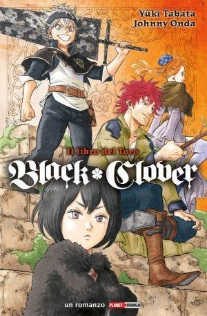 BLACK CLOVER (ROMANZO) N.1