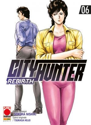 CITY HUNTER REBIRTH N.6