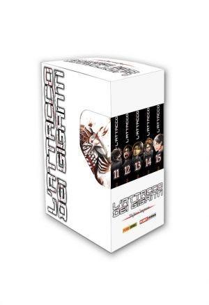 L'ATTACCO DEI GIGANTI 10-15 COFANETTO PIENO (ISBN)