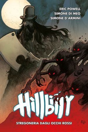 HILLBILLY N.4 - RED-EYED WITCHERY FROM BEYOND