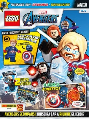 LEGO AVENGERS N. 6
