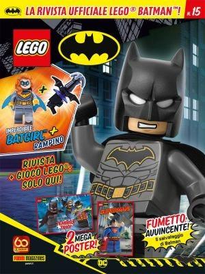 LEGO BATMAN: LEGO BATMAN MAGAZINE N.15