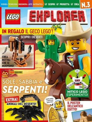 LEGO EXPLORER: LEGO EXPLORER MAGAZINE N. 3