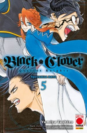 POWERS N.12 - BLACK CLOVER QUARTET KNIGHTS 5