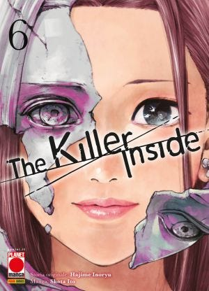 THE KILLER INSIDE N.6 (LIBRO ISBN)