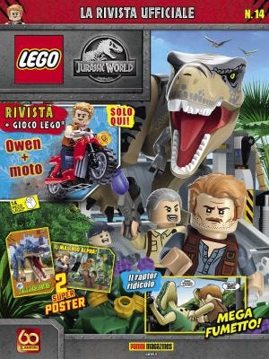 SUPER PANINI: LEGO JURASSIC WORLD N.14
