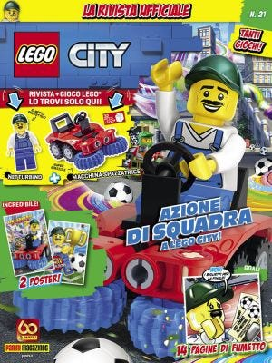 PANINI TECH: LEGO CITY N.21