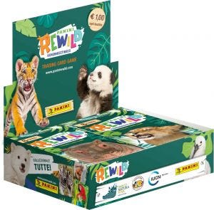 Panini Rewild - scatola da 24 bustine