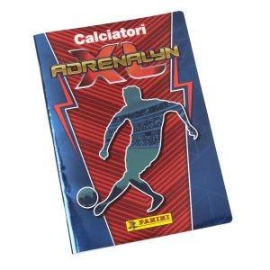 Quaderno Calciatori Adrenalyn XL blu e rosso