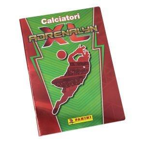 Quaderno Calciatori Adrenalyn XL rosso e verde