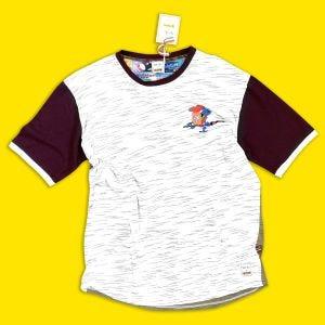 T-shirt Panini con Paladino sul petto