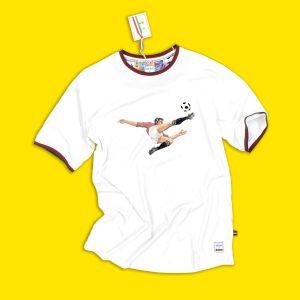 T-shirt con Rovesciata Panini