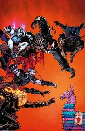 Venom 29 Fortnite X Marvel Variant