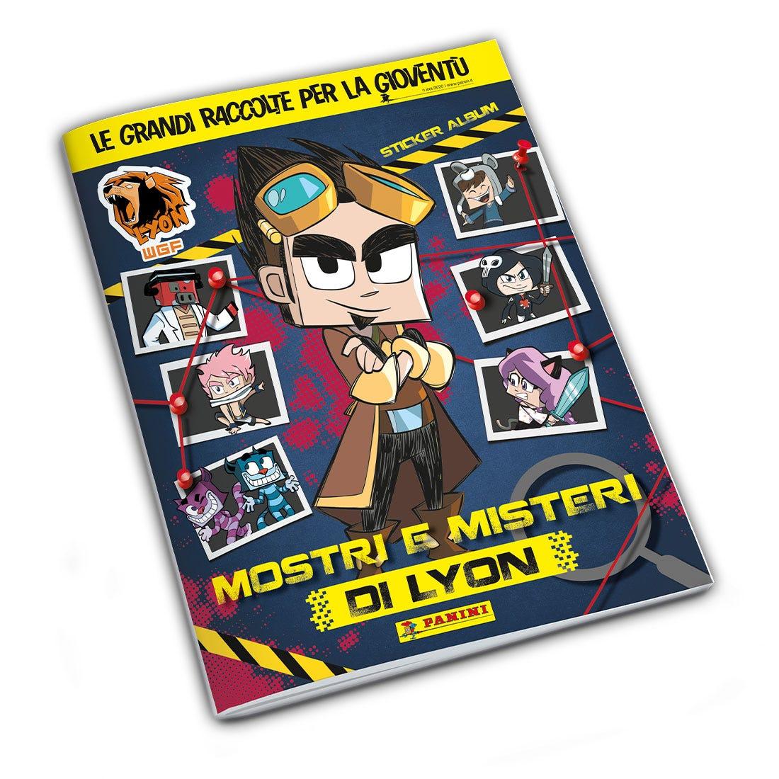 MOSTRI E MISTERI DI LYON Sticker Collection   Panini