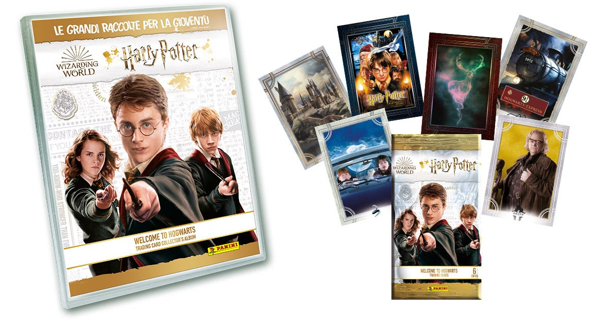 "Harry Potter ""Welcome to Hogwarts"" Trading Card collection - Panini"